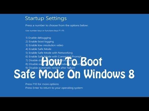 Starten Sie Windows 10 im abgesicherten Modus