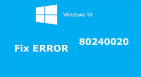 Tipps zur Lösung von Windows 10 Upgrade-Fehler 80240020