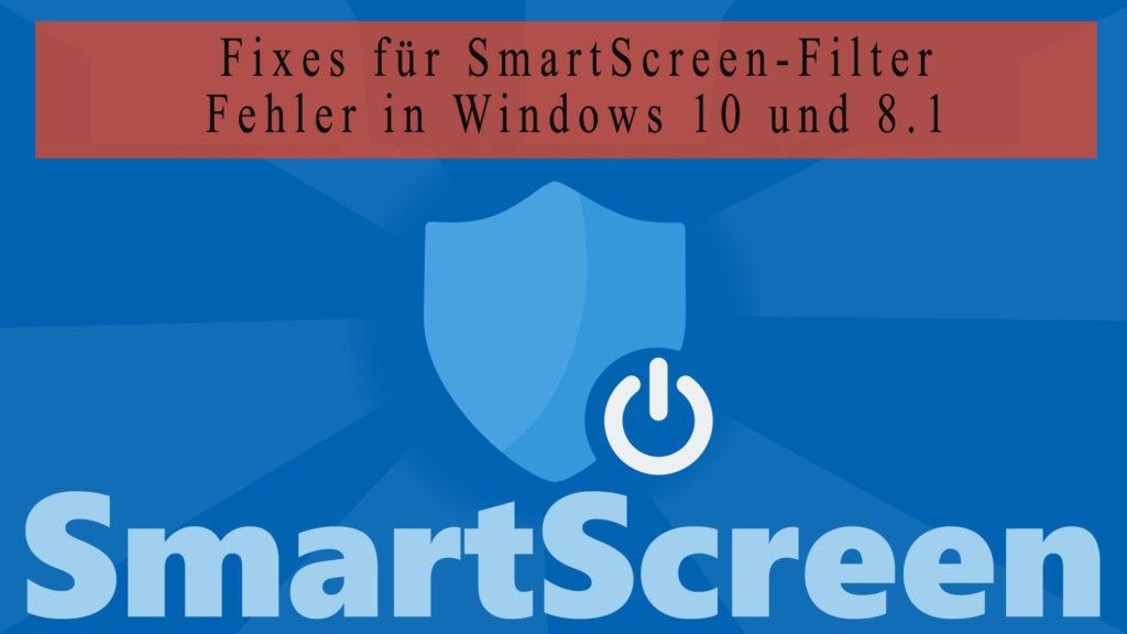 SmartScreen Filter in Windows 8.1