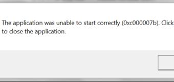 Wie zu beheben 0xc00007b / 0xc000007b Fehler (alle PC Spiele & Software) unter Windows 7, 8 & 8.1