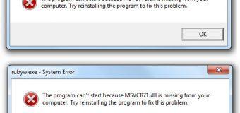 Wie man leicht alle DLL-Fehler in Windows 8, 8.1 zu beheben