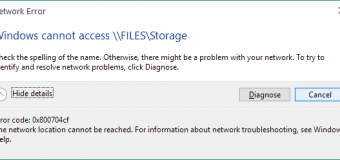 [Gelöst] Wie kann ich den Netzwerkfehler 0x800704cf unter Windows 10 / 8.1 / 8 beheben?