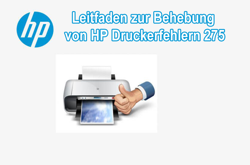 Fehler beheben 2753 HP Druckerfehler