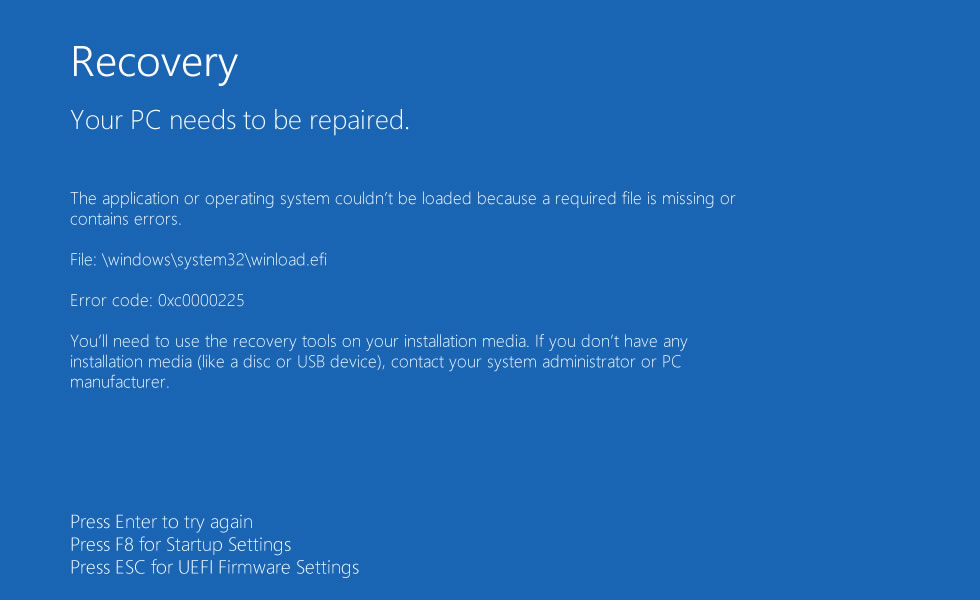 Windows System32 Fehler