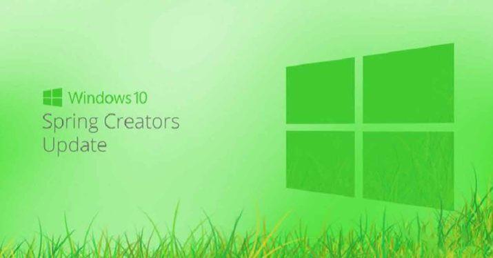 Spring Creators Update Startdatum