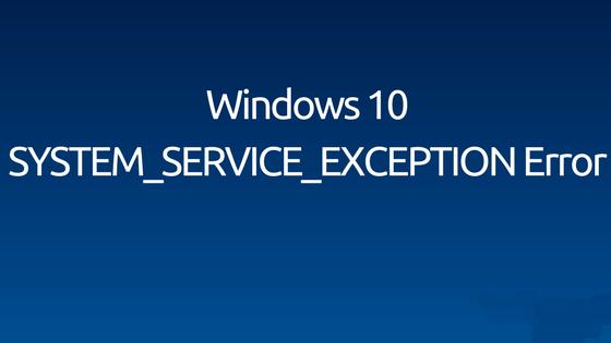 loszuwerden System_Service_Exception Fehler