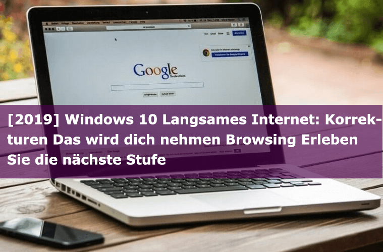 Windows 10 Langsames Internet